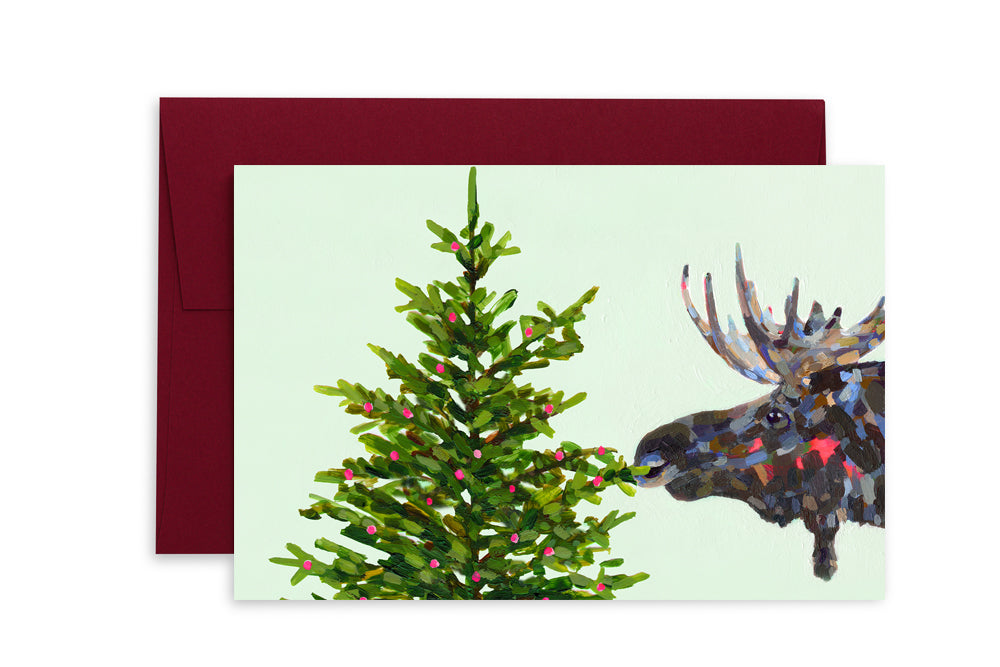 Ashforth Press - Holiday Cards Moose