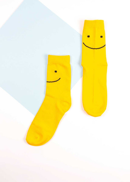 Okie Dokie - Happy Face Socks