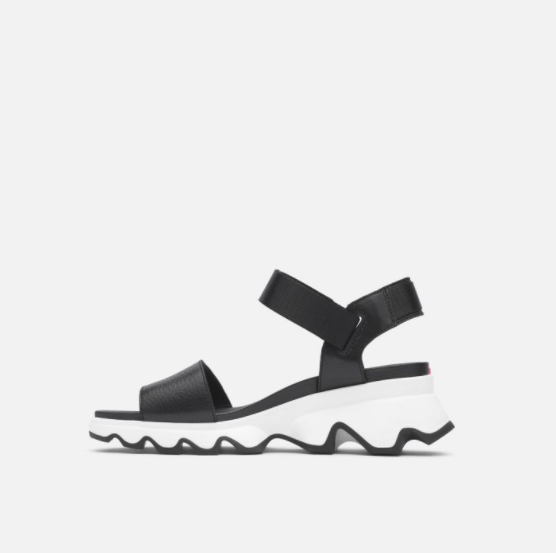 Sorel - Kinetic Sandal in Black