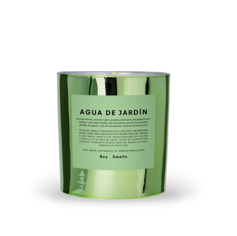 Boy Smells - Agua de Jardin Candle
