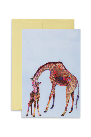 Ashforth Press - Wee Giraffe Love Card