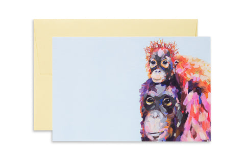 Ashforth Press - Wee Orangutan Love Card