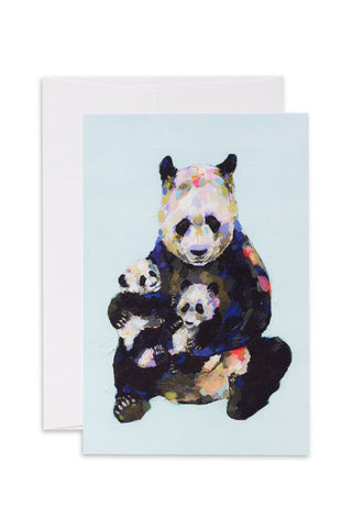 Ashforth Press - Wee Pandas Love Card
