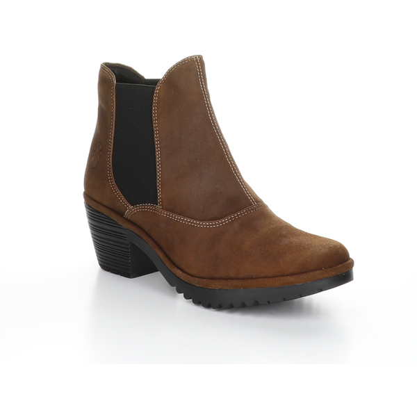 Fly London - Chelsea Ranch Boot in Cognac