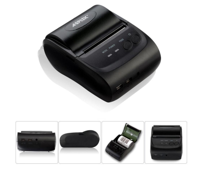 In-Cab Thermal ELD/AOBRD Log Printer Rechargeable Wireless