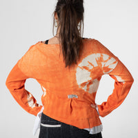 Orangs tie dye top