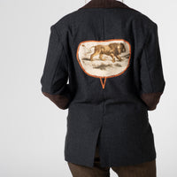 Re-hab mens jacket with lion design