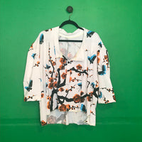Jersey Japanese print top