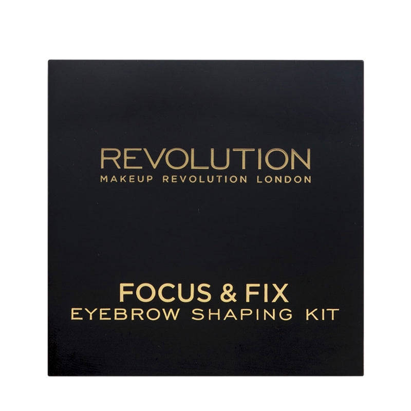 Revolution Focus & Fix Brow Kit Medium Dark