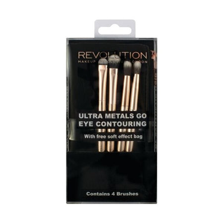 Makeup Revolution Ultra Metals Go Eye Contouring