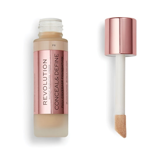F8 - Revolution Conceal & Define Full Coverage Foundation