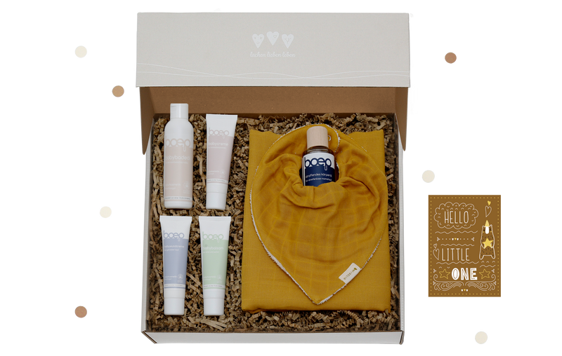 "Baby ""Mama & Kind Pflege-Box Deluxe"" oben"