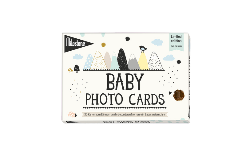 Baby Photocards von Milestone