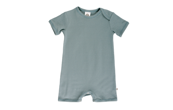 Cozy Beach Body kurzarm in stone green von Muesli