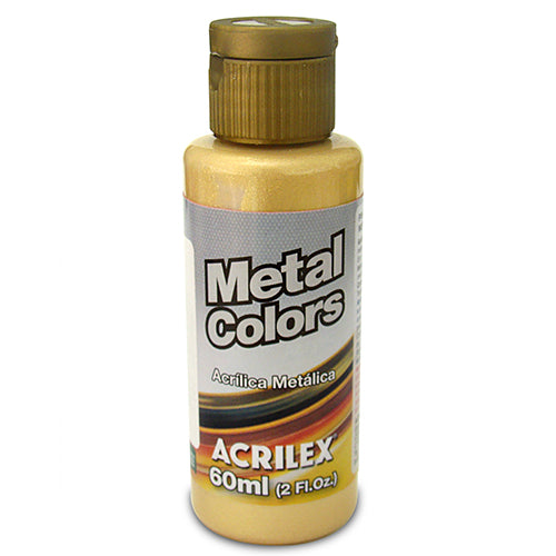 PINTURA ACRILÍCA METAL COLORS 60 ML