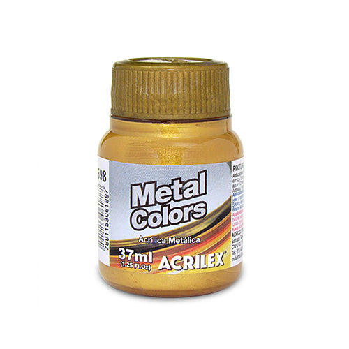 PINTURA ACRILÍCA METAL COLORS 37 ML