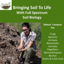 Load image into Gallery viewer, SymSoil® V50  (Robust Compost & Fungal Infused Biochar)