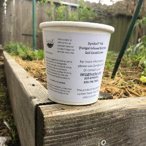 Sample - SymSoil® FIB (Fungal Infused Biochar) 1 cup