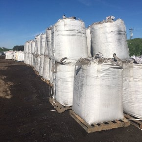 SymSoil® FIB (Fungal Infused Biochar) in 1 Cubic Yard Totes-Delivery Charge Invoiced Separately; Location Dependent