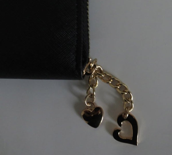 Leather Love Heart Purse - Lily's Loft