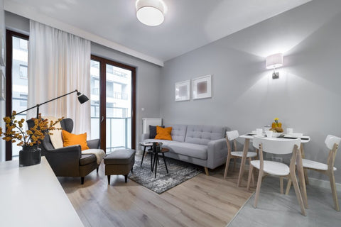 Home staging example by Monty Space