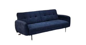Erik Sofa Bed, Blue Velvet