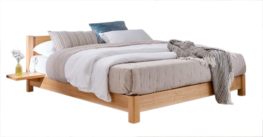 Fuji Oak Bed, Double