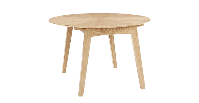Duhrer Oak Dining Table, 4-6 seater