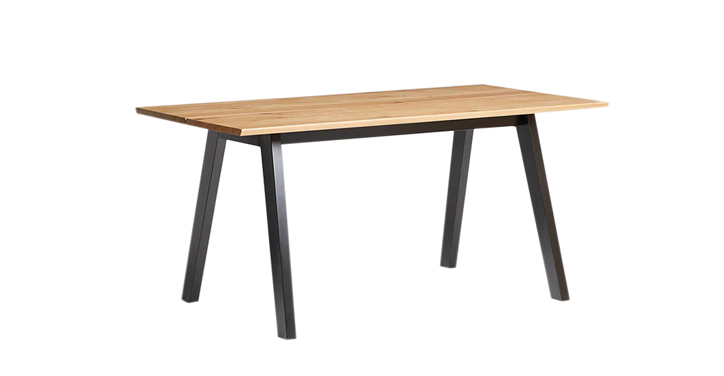 Outland Oak Dining Table, 6 seater