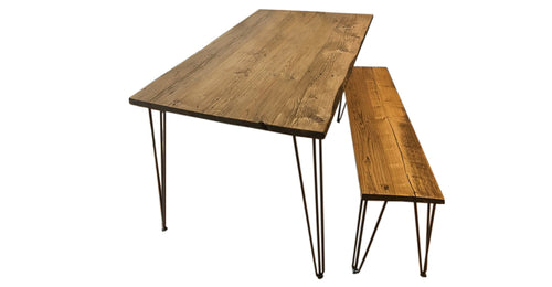 Reclaimed Wood Dining Table Rental
