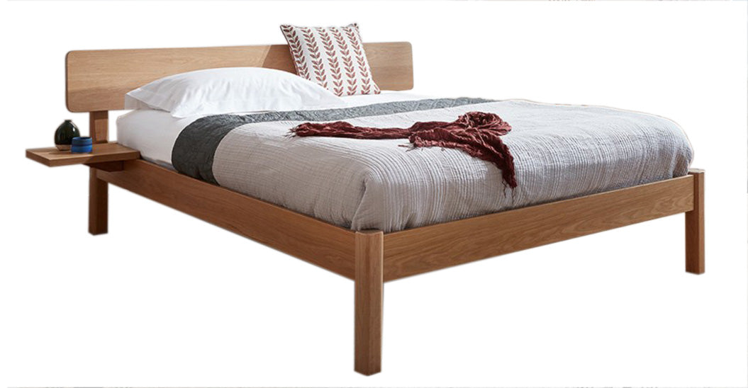 Deco Oak Bed, Double
