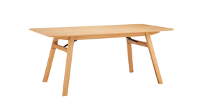 No.036 Oak Dining Table, 6-8 seater