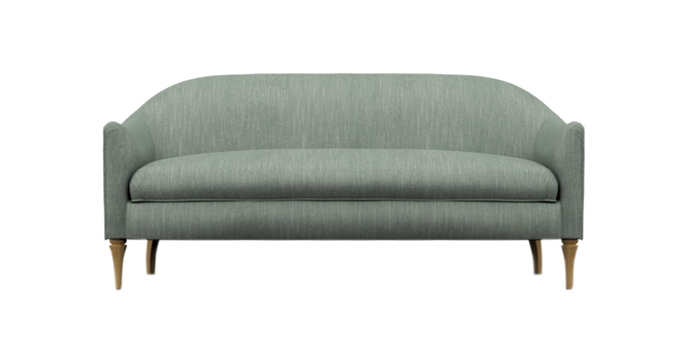 Lexington Sofa, Silver