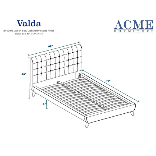 Valda Bed-Bed-ACME-ModLux_Living_furniture