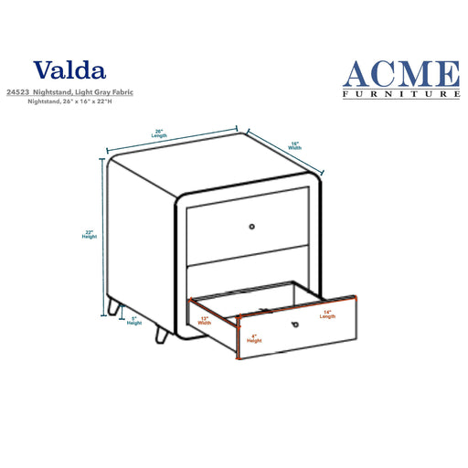 Valda Nightstand-Nightstand-ACME-24523-ModLux_Living_furniture