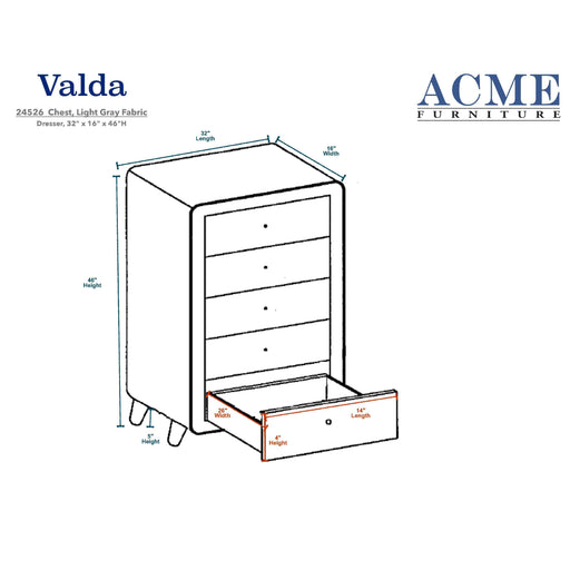 Valda Chest-Chest-ACME-24526-ModLux_Living_furniture