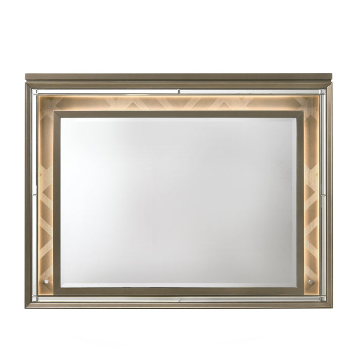 Skylar Mirror with LED-Mirror-ACME-25324-ModLux_Living_furniture