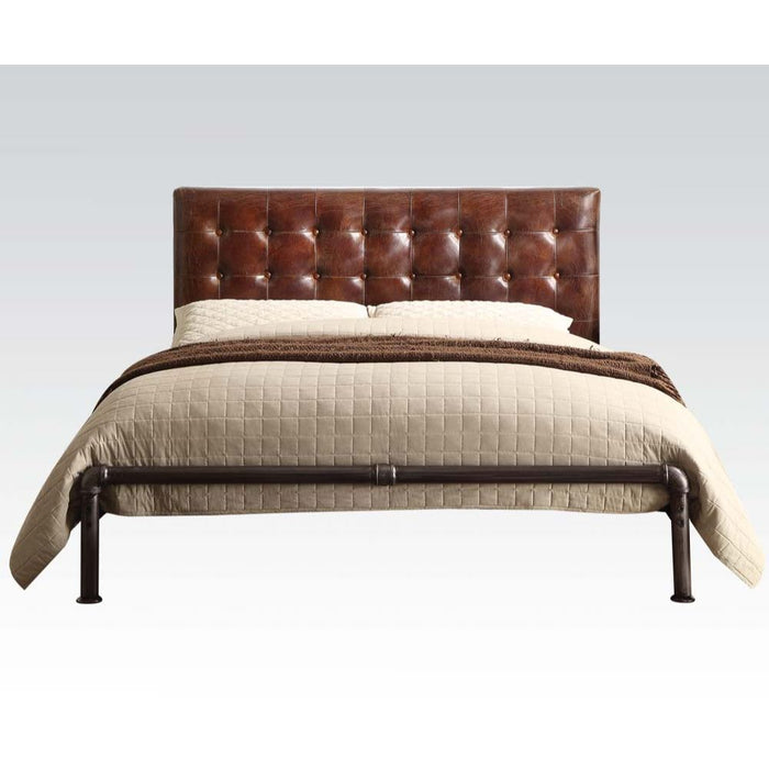 Brancaster Bed-Bed-ACME-26210Q-ModLux_Living_furniture