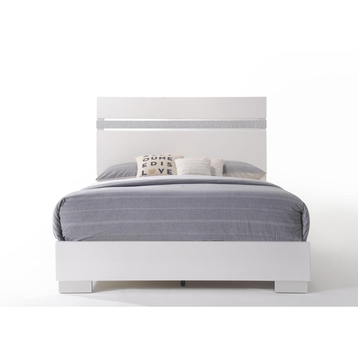 Naima II Bed-Bed-ACME-26767EK-ModLux_Living_furniture