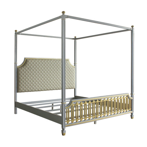 House Marchese Bed (Canopy)-Bed-ACME-28854CK-ModLux_Living_furniture