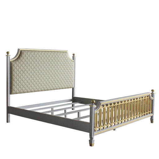 House Marchese Bed (Style 2)-Bed-ACME-28884CK-ModLux_Living_furniture