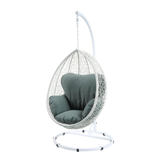Simona Patio Swing Chair with Stand-Outdoor Chair-ACME-45032-ModLux_Living_furniture