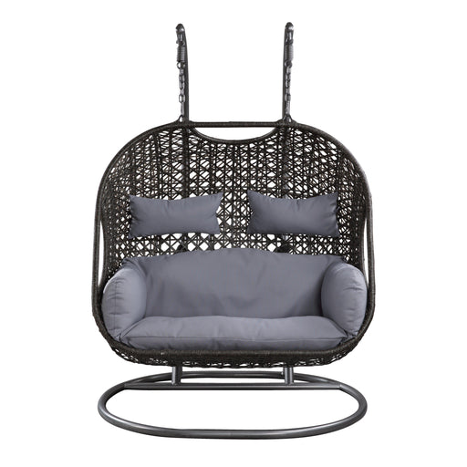 Vasant Patio Swing Chair with Stand-Outdoor Chair-ACME-ModLux_Living_furniture