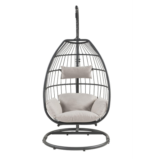 Oldi Patio Hanging Chair with Stand-Outdoor Chair-ACME-45115-ModLux_Living_furniture