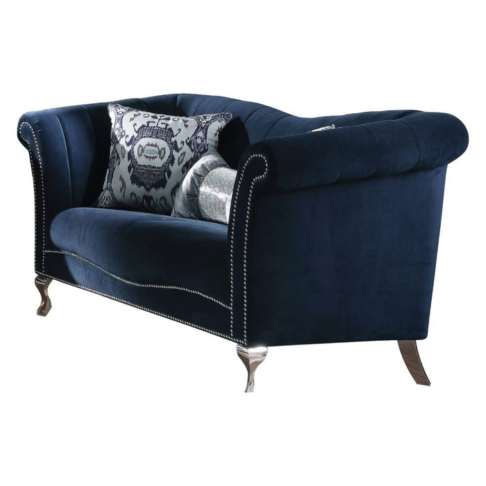 Jaborosa Loveseat (with 2 Pillows)-Loveseat-ACME-50346-ModLux_Living_furniture
