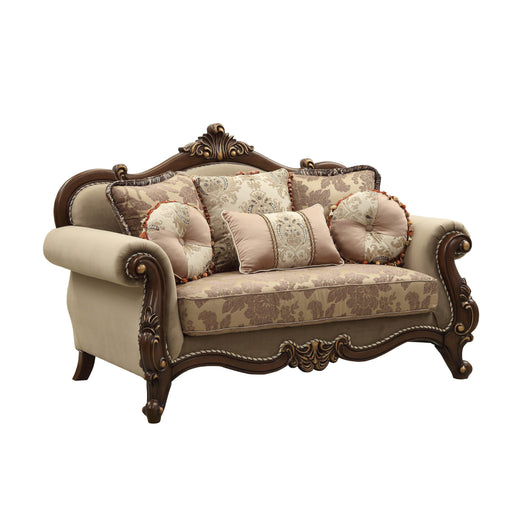 Mehadi Loveseat (with 6 Pillows)-Loveseat-ACME-50691-ModLux_Living_furniture