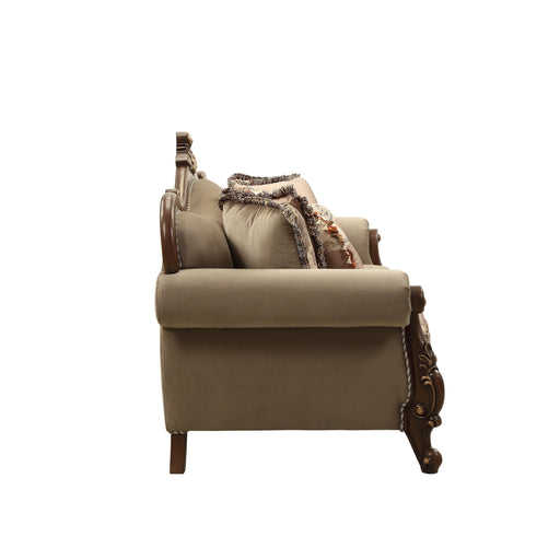 Mehadi Arm Chair (with 2 Pillows)-Accent Chair-ACME-50692-ModLux_Living_furniture