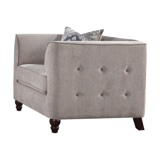 Cyndi Chair (with 1 Pillow)-Accent Chair-ACME-52057-ModLux_Living_furniture