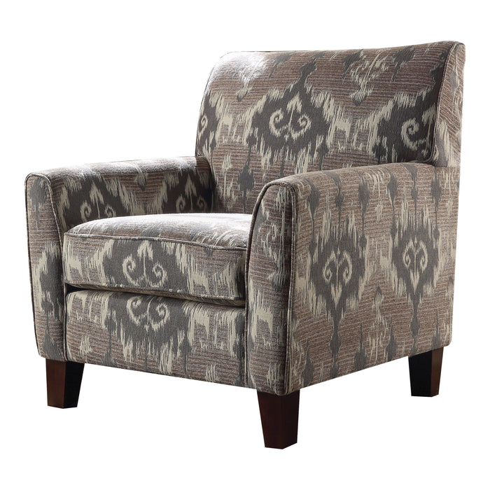 Cyndi Chair (Contrast Pattern)-Accent Chair-ACME-52058-ModLux_Living_furniture