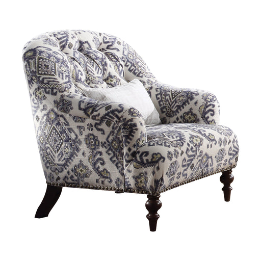 Saira Chair (with 1 Pillow)-Accent Chair-ACME-52062-ModLux_Living_furniture